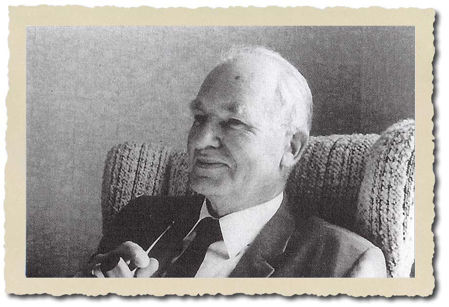 Einer der Gründer 1910: Pastor Enno Heyken